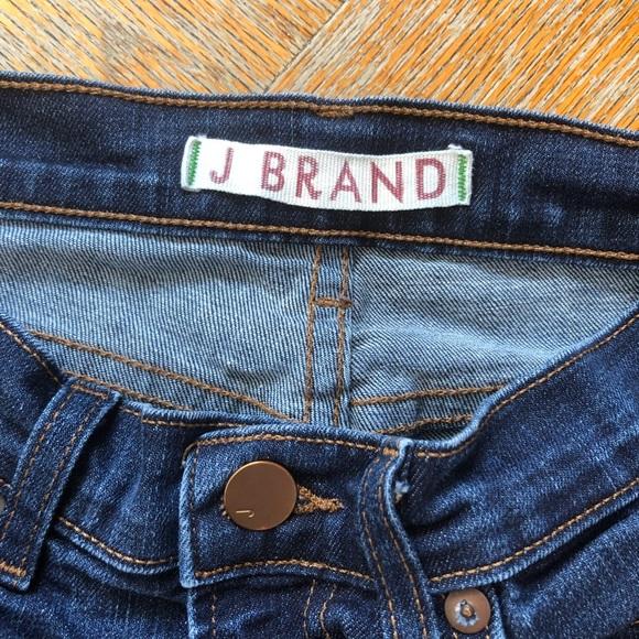 J Brand Denim - Dark Wash J Brand Skinny Jeans